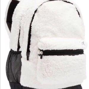 VS PINK sherpa backpack